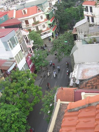 Art Hotel Hanoi: view from 7th floor private terrace