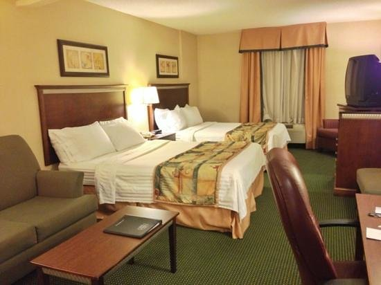 Fairfield Inn & Suites Toronto Airport: Double Room