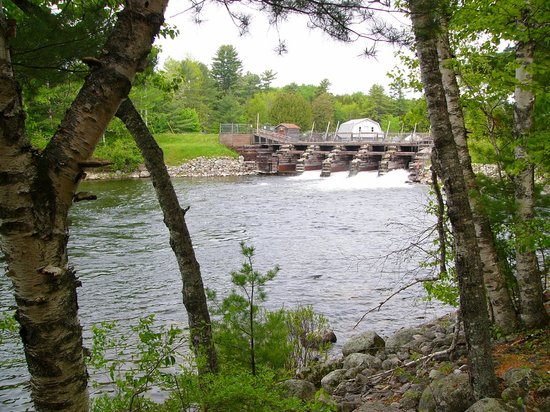 Grand Lake Stream, Maine: Dam Pool