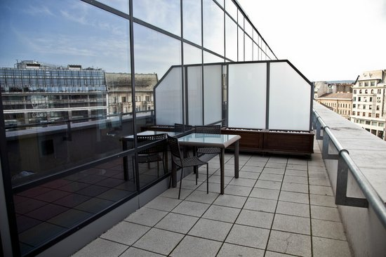 Courtyard by Marriott Budapest City Center: balcony