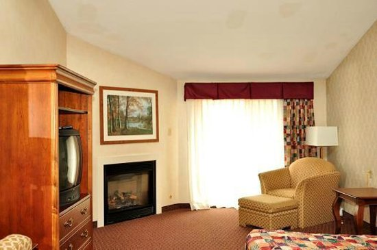 Hedgesville, WV: Evergreen Lodge Room