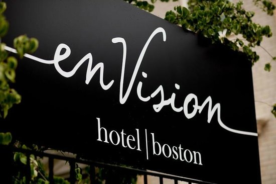 enVision Hotel Boston: Exterior Sign