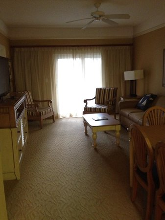 Sheraton Broadway Plantation Resort Villas: Living room area