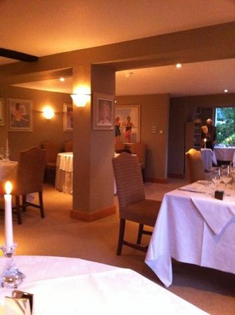 Mill End Hotel : lovely atmosphere in the restaurant