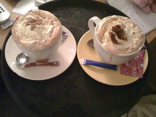 Hotel 't Zand: The best hot choc i have ever had