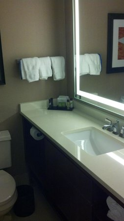 Embassy Suites Austin - Downtown/Town Lake Austin Texas: Bathroom