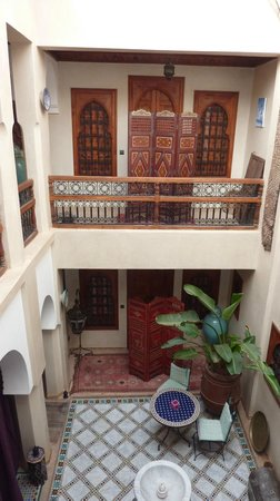 Riad Dubai: Innenhof