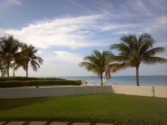 Plantana Condominiums: View from the porch at #12