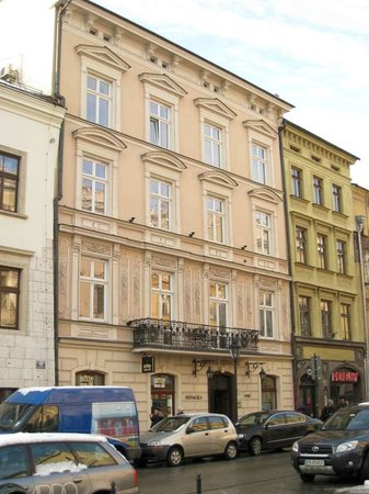 Hotel Senacki: Front of hotel