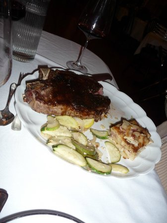 Captain A. V. Nickels Inn: rib-eye inMaple bourbon Reduction