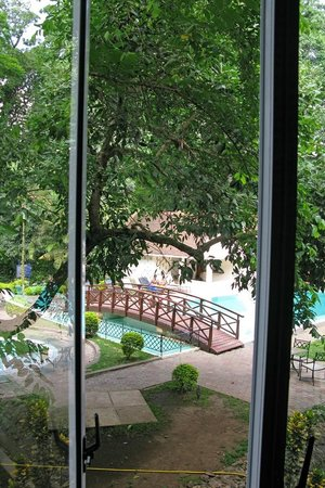 The Arusha Hotel: View from room