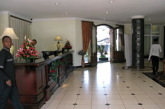 The Arusha Hotel: Reception
