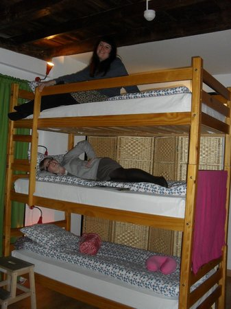 El Granado: triple bunk bed