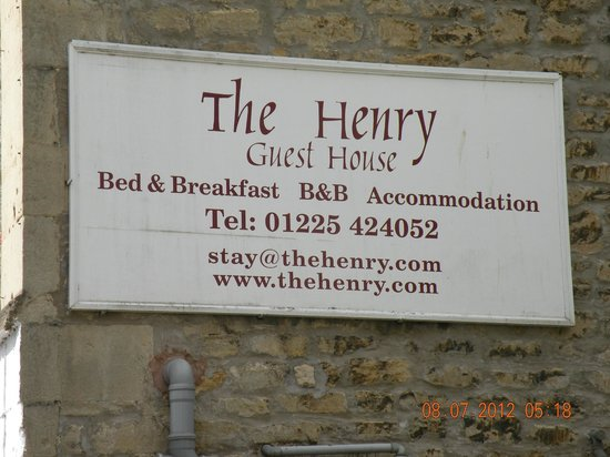 The Henry Guest House: The Henry B&B