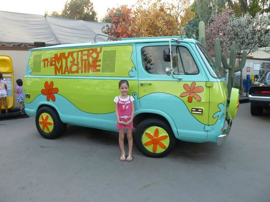 Scooby Doo Mystery Machine Picture Of Universal