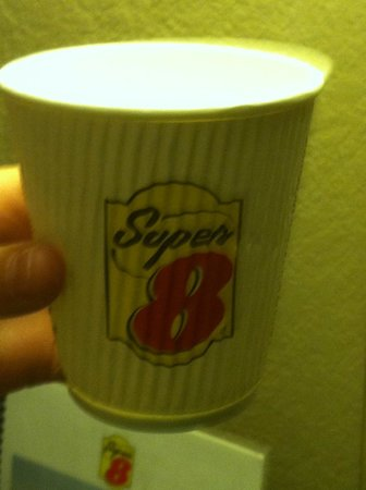 Super 8 Motel St. Clairsville: Name of hotel bug was in.