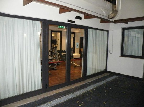 Hotel Pulitzer Roma: Gym on floor 0