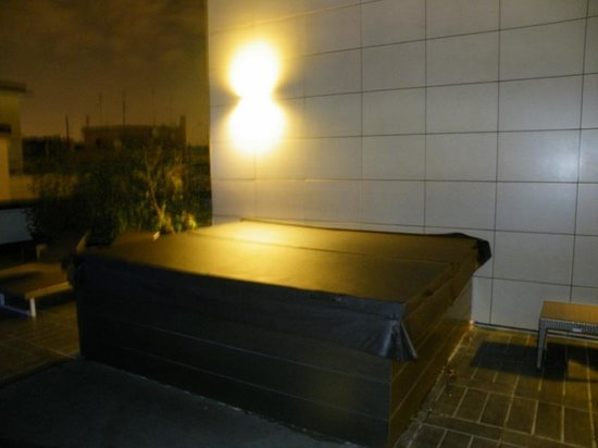 Hotel Pulitzer Roma: Outdoor jacuzzi on floor 5