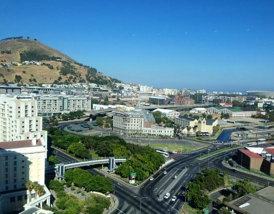 The Westin Cape Town: Clear views to the waterfront