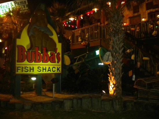 Bubba 39 s fish shack elevated on stilts elevator available for Bubbas fish shack