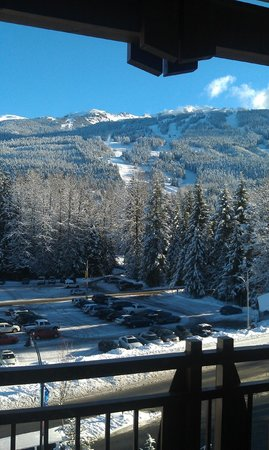 Pan Pacific Whistler Village Centre: View from my room! 6619