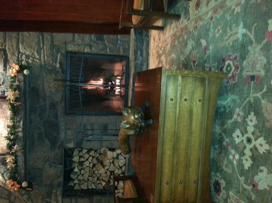 Fox Hotel & Suites: the very warm and welcoming foyer.
