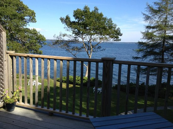 Lincolnville, ME: View from the May Sarton room porch