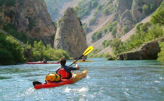 Huck Finn - Private Day Tours: Kayaking on the Zrmanja River
