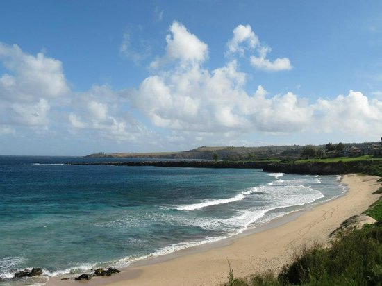 Kaleialoha Condominiums: Beach near Office Road, Kapalua