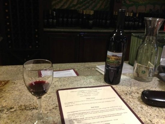 Inn at Churon Winery: Wine Tasting