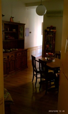 Your Nest in Rome: breakfast room