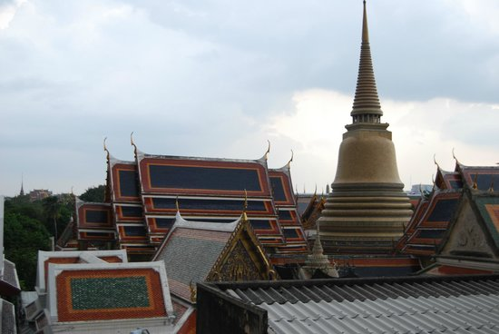 Feung Nakorn Balcony Rooms & Cafe: view from roof