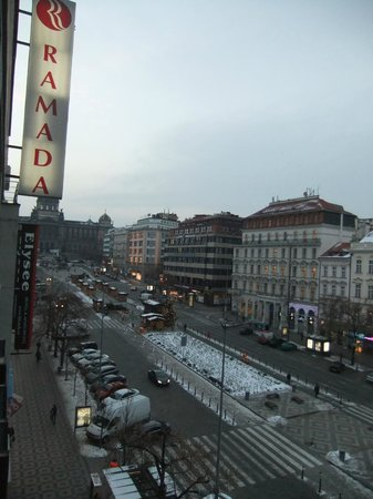 Ramada Prague City Centre: View from room