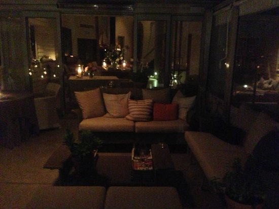The Boatshed: Dinner by candlelight