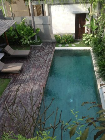 Artisane Villas and Spa: Pool view from Bedroom 2
