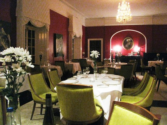 Dunbrody Country House Hotel: Dining room