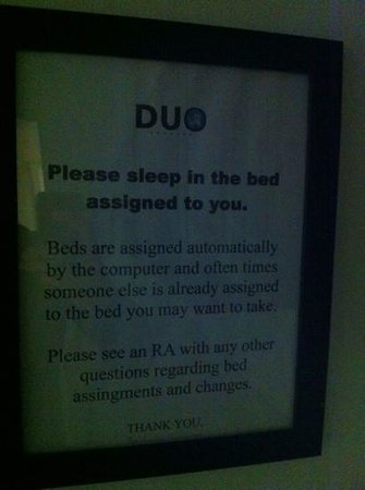 Duo Housing: beds