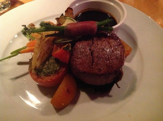 Bacon wrapped Beef Tenderloin - Picture of Collingwood ...