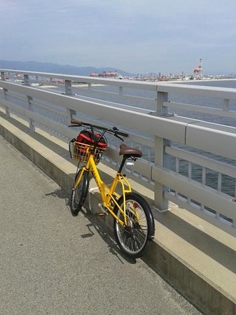 Kobe Union Hotel: Rental bicycle