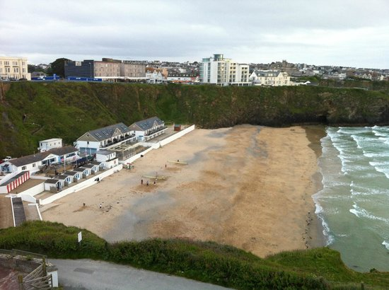 Tolcarne Beach Apartments: view