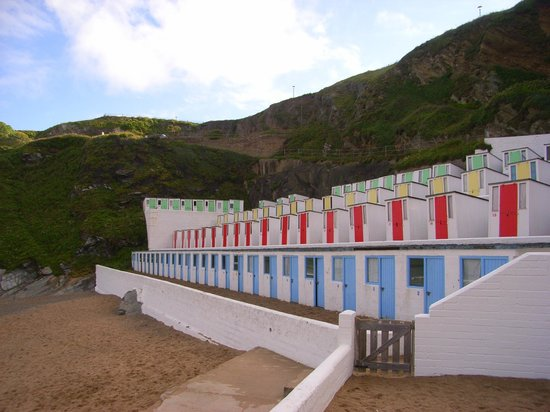 Tolcarne Beach Apartments: private