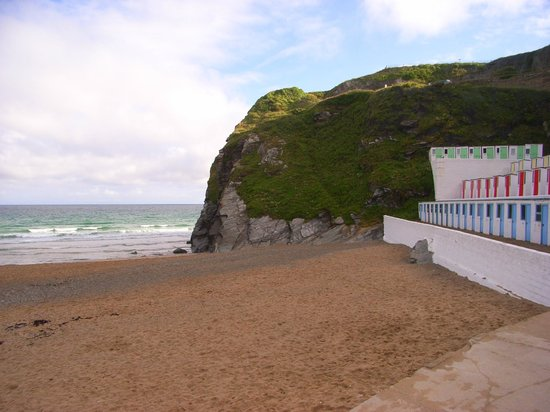 Tolcarne Beach Apartments: view from room