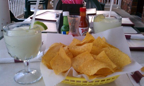 Ranson, WV: Frozen Margaritas and chips