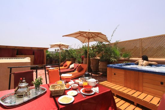 Riad Reves D&#39;orient: Terrasse