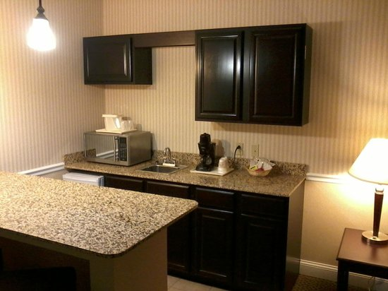 Comfort Inn &amp; Suites: microwave and sink