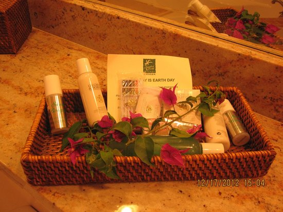 Galley Bay Resort: Complementary bathroom toiletries