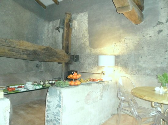 Monaci delle Terre Nere: buffet colazione