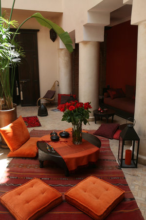 Riad Boussa: Patio du riad