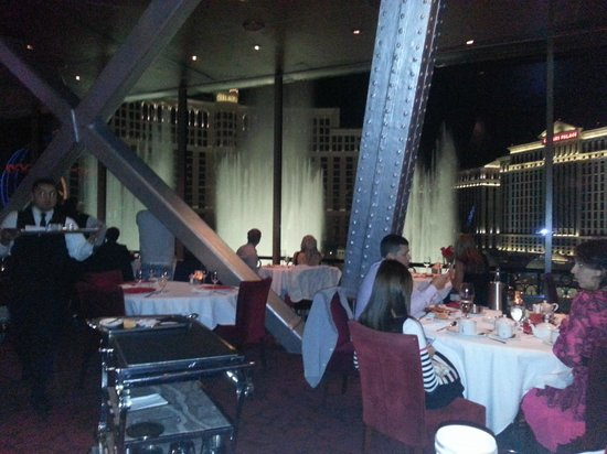 Inside The Eiffel Tower Restaurant Picture Of Eiffel Tower Restaurant At Pa