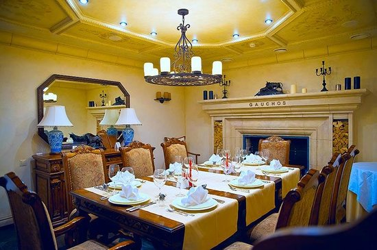 Private room dining